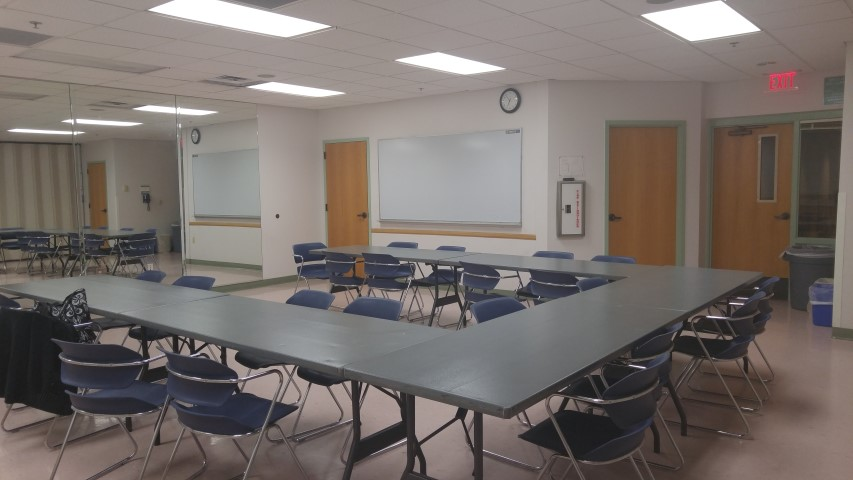 Red Mountain Center Activity Room 5 or 6 Classroom Set-up