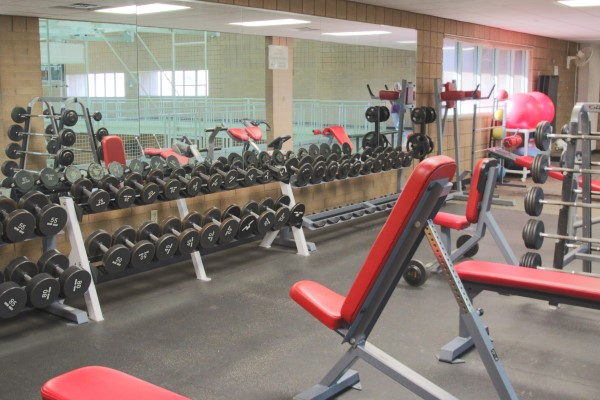 RMC Fitness Center Free Weights Area