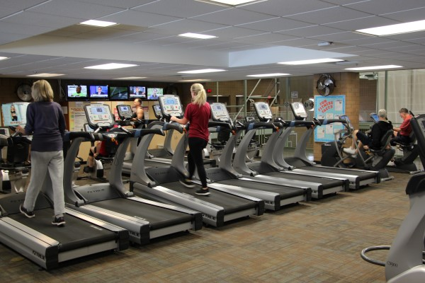 RMC Fitness Center Treadmills