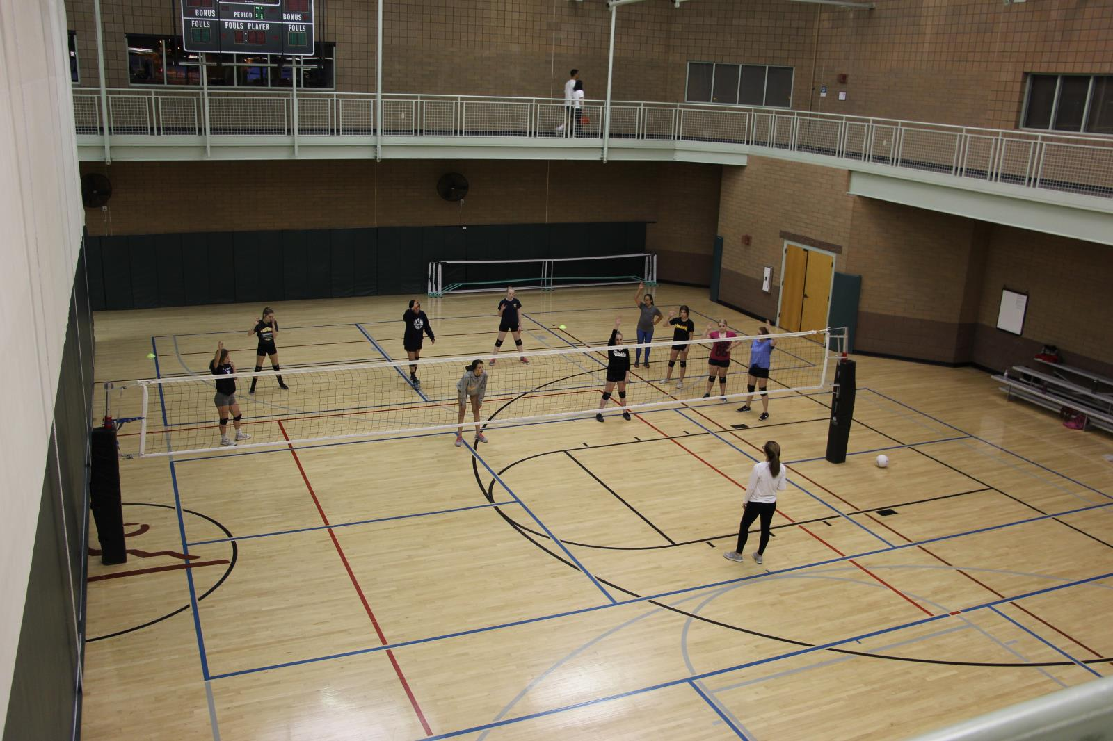 Red Mountain Center Basketball Gym Volleyball