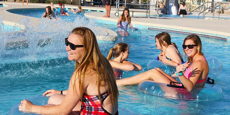 Mesa Pool Lazy River Tubes