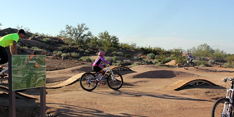 Desert Trails Bike Park Kids