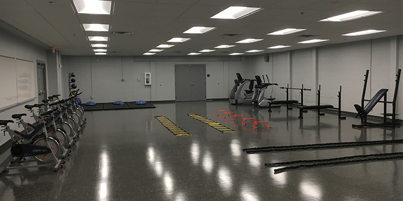 Eagles Community Center Functional Fitness Room