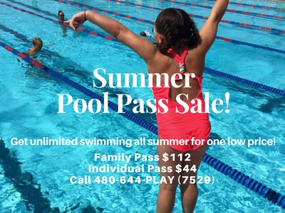 Pool Pass Sale Mesa