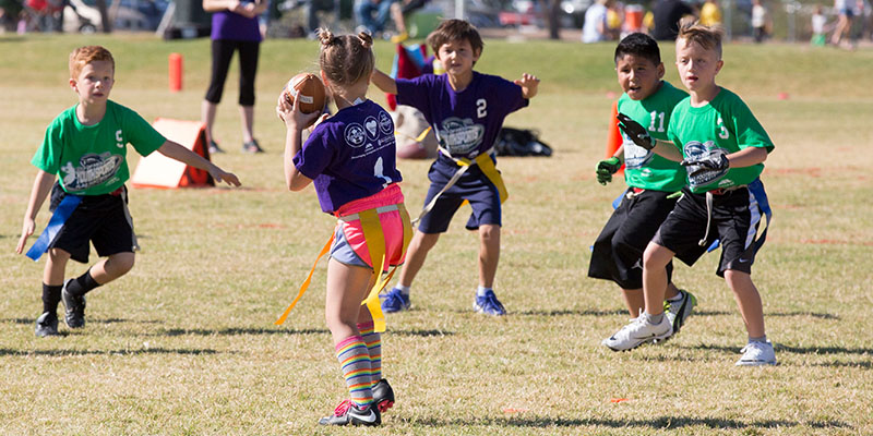 City of Mesa Youth Sports Flag Football Pass