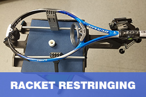 Racket Restringing 4 x 2