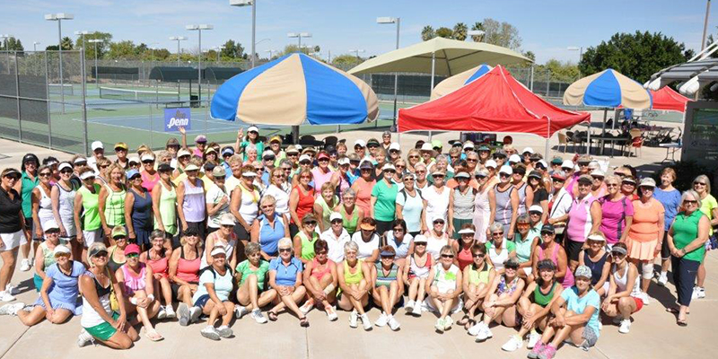 VOS and WOW Teams Mesa Tennis Cener March 17