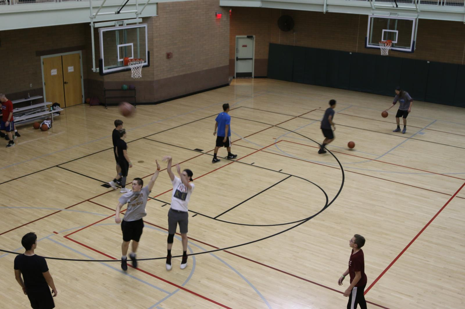 Red Mountain Center Basketball Gym