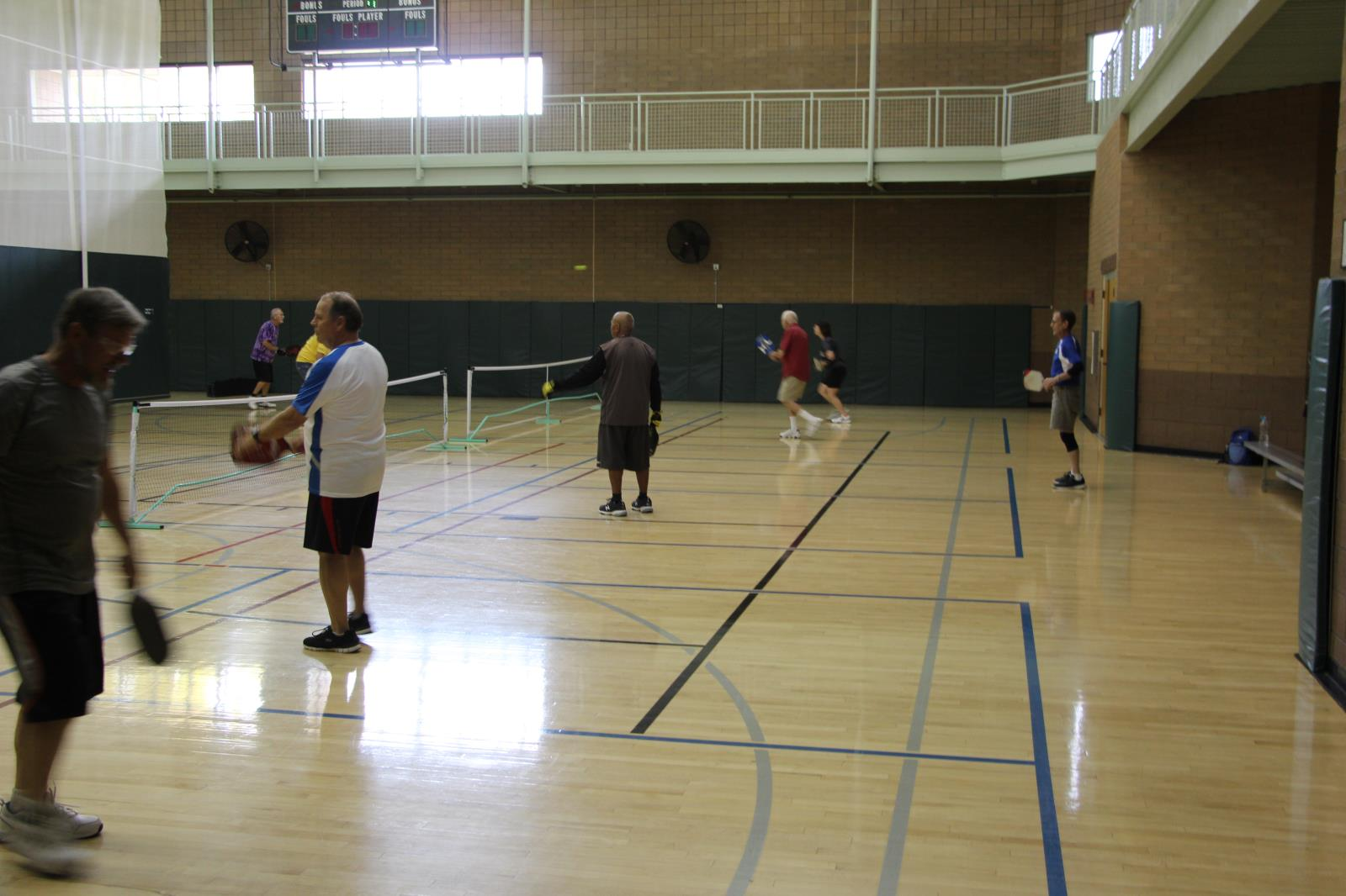 Red Mountain Center Basketball Gym Pickleball