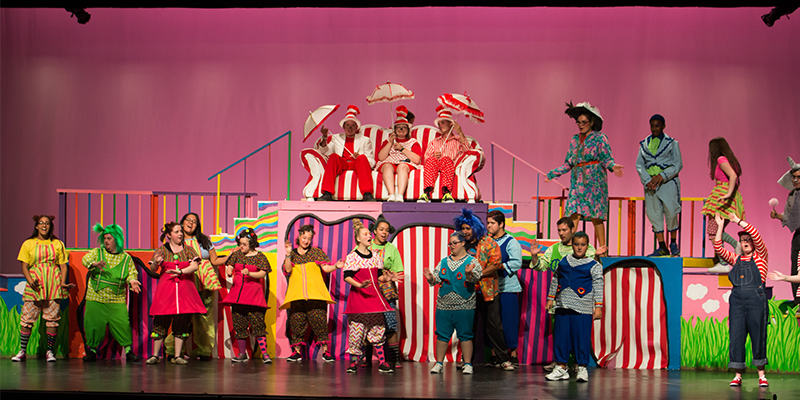Mesa Adaptive Program Off Broadway Seussical
