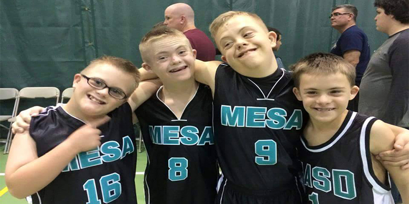 Mesa Adaptive Program Basketball