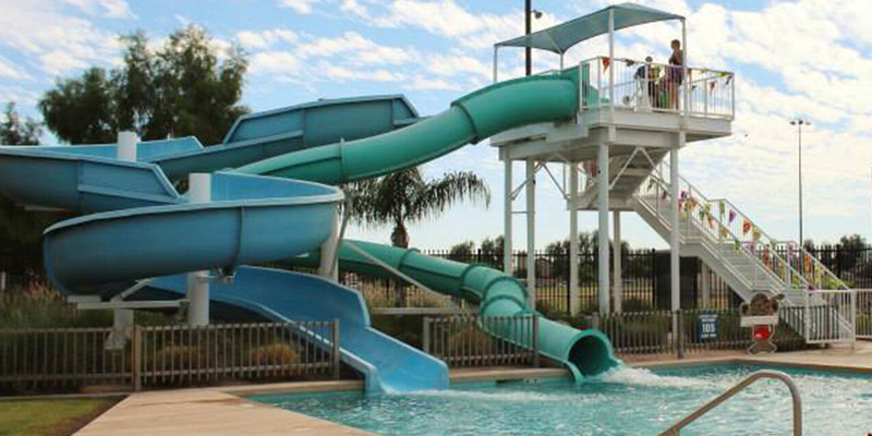 Brimhall Pool Slide