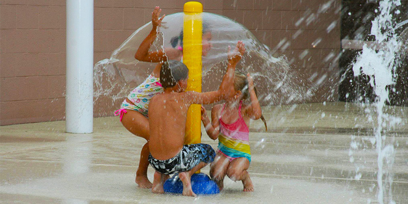 Rhodes Pool Splash Pad