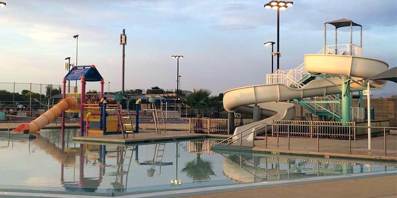 Stapley Pool Slides