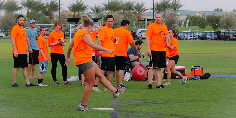 City of Mesa Adult Kickball League 3