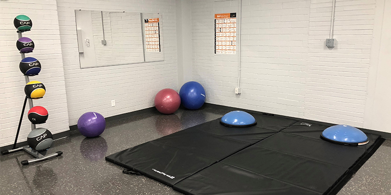 Eagles Community Center Medicine Balls and Exercise Balls