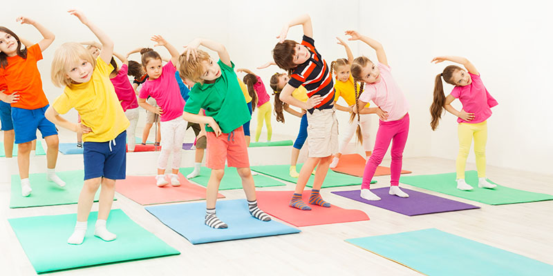 pre-k fitness classes