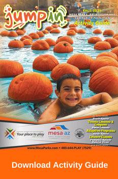 Download Activity Guide Mesa Parks and Recreation Fall 2018