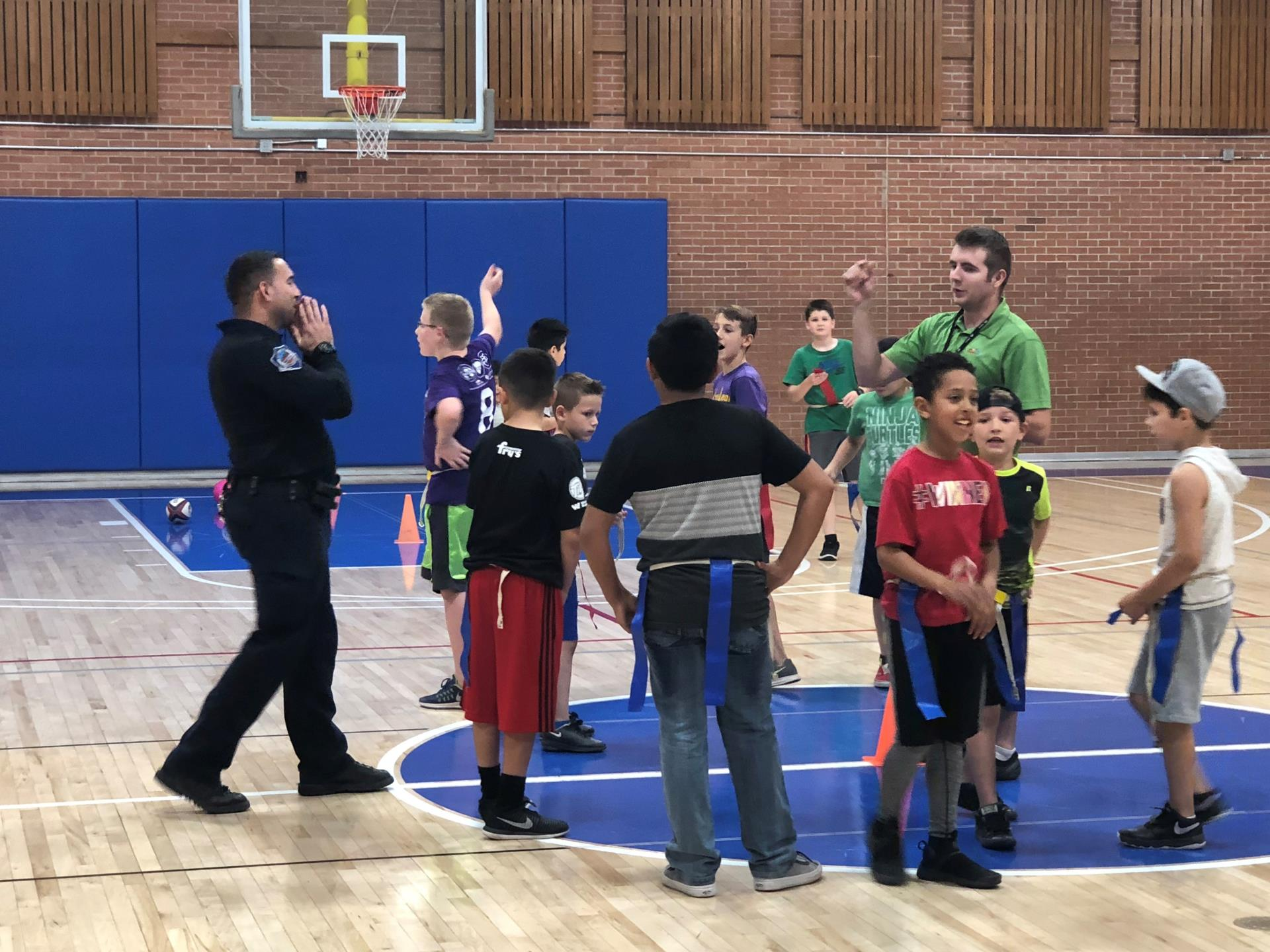 Youth Activity Night Eagles Community Center with Mesa PD