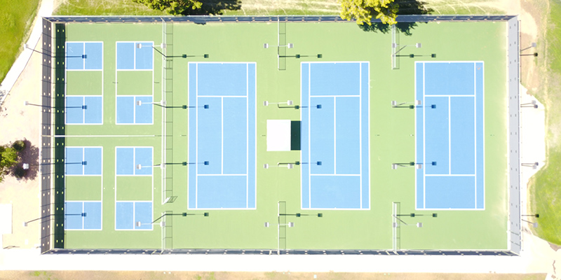 Tennis Courts and Pickleball Courts Kleinman Park
