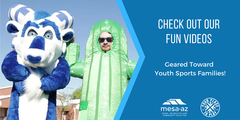 City of Mesa Youth Sports Fun Videos