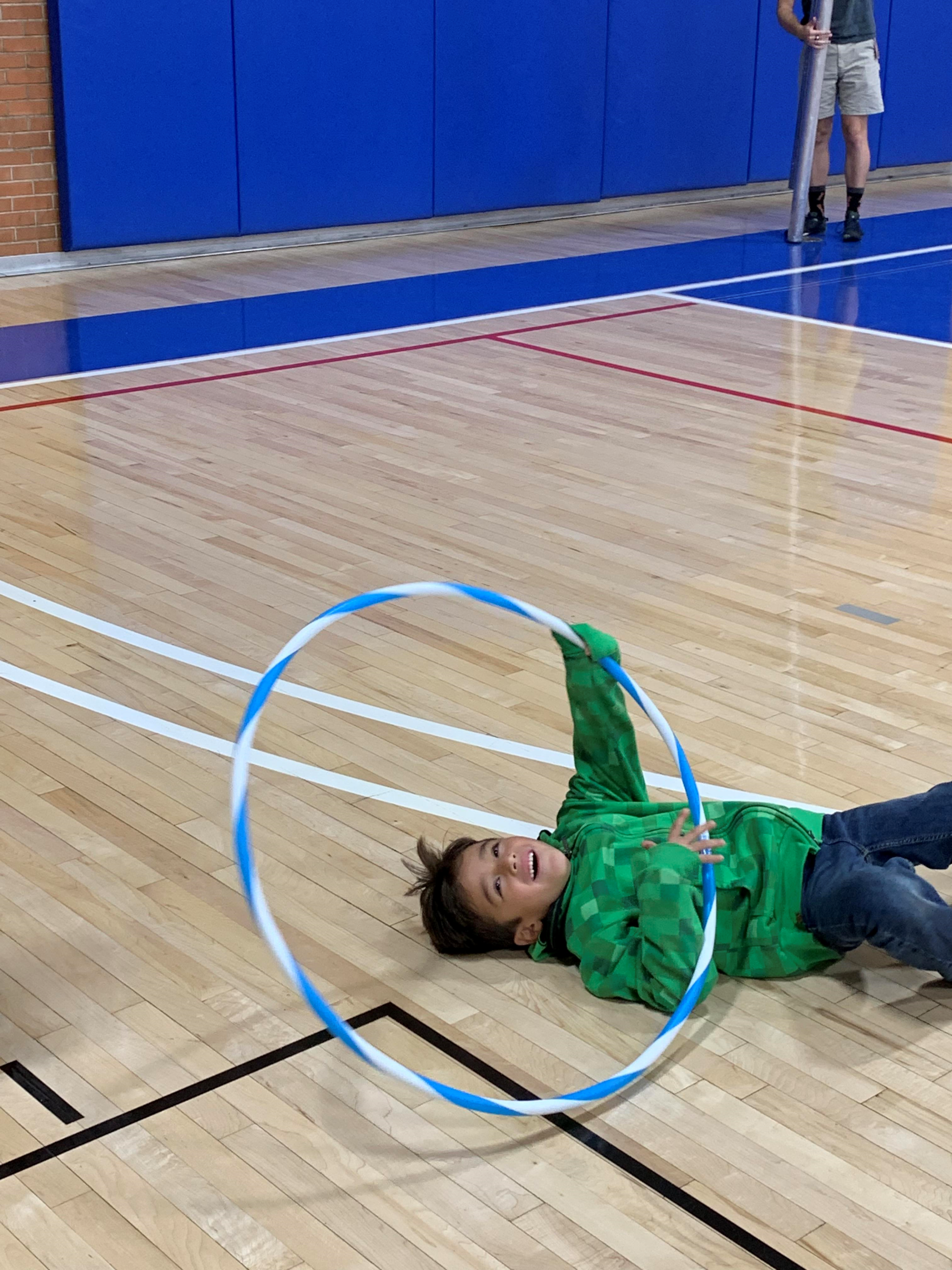 Eagles Community Center Gym Hula Hoop