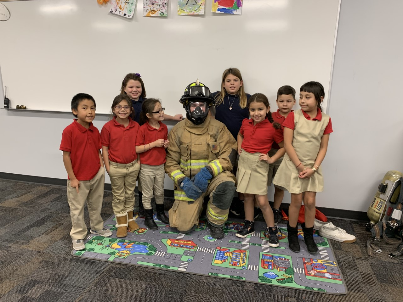 Eagles Community Center After School Program Fireman