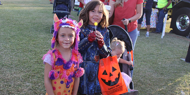 Celebrate Mesa Fall Festival Costumes and Candy