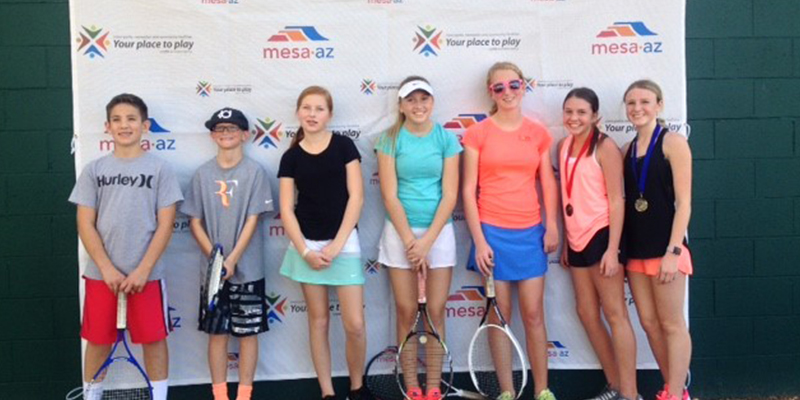 Mesa Tennis Center Junior Tournaments