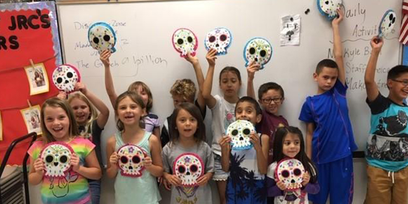 City of Mesa Jefferson Recreation Center Skull Craft