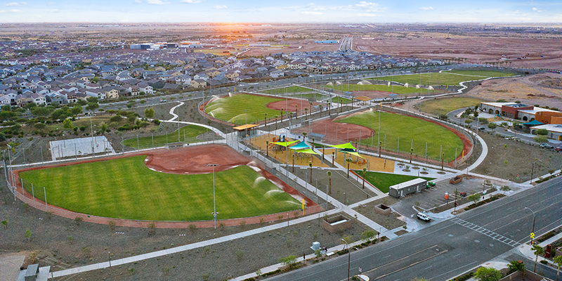 Eastmark Sports Complex Aerial