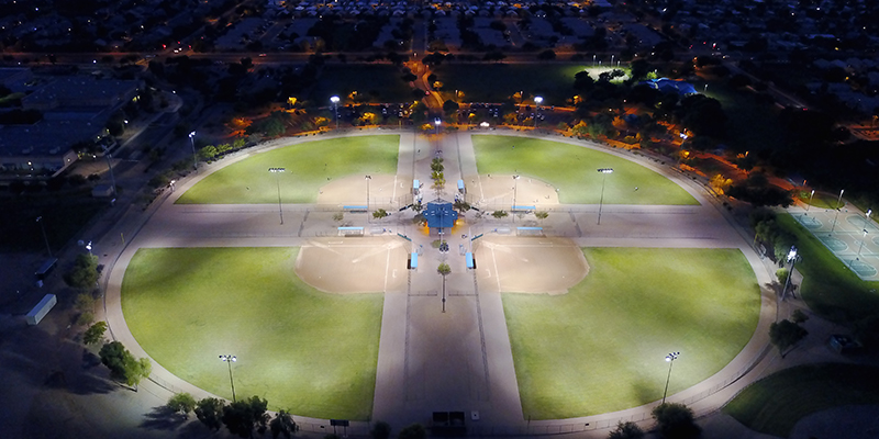 Skyline Softball Complex Aerial 2