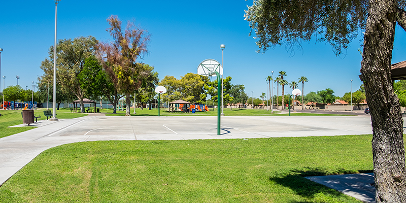 Fitch Park Basketball Court