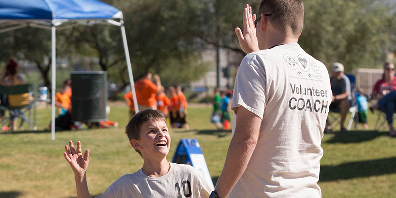 City of Mesa Parks and Recreation Youth Sports Volunteer Coach