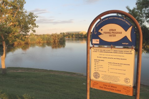 community fishing program | mesa parks, recreation & community