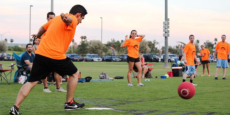 Kickball | Mesa Parks, Recreation & Community Facilities